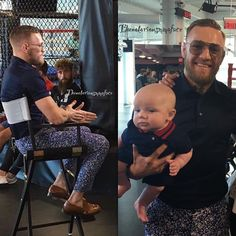 """302 Likes, 5 Comments - Conor McGregor Fan Page ☘️ (@thenotoriousmmaface) on Instagram: """"Father and son..♥️✨THIS IS ✨THE MAC LIFE ✨THE King Life  Follow➡️ @thenotoriousmmaface…"""""""