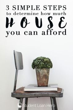 How much house can you really afford to buy? Here are 3 simple steps to figuring out how much you should spend on buying a house!