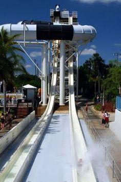 #Wet-n-Wild #WaterPark - Killer Slide!!