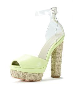 Odel Platform Sandal by Plomo