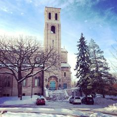 Even though we may be yearning for spring, there are few places as pretty as St. Kate's in the winter. Another beautiful shot by @alexkennedy617. Follow @stkates on Instagram!