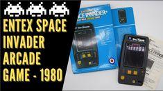 Entex Space Invaders Handheld Game Space Invaders, Retro Video Games, Arcade Games, Retro Vintage