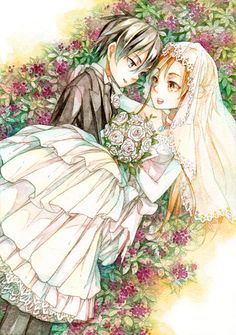 Kazuto & Yuuki Asuna married - By Sword Art Online Kirito and Asuna ღ