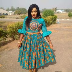 Exotic Ankara Fashion: Spice Up Your Look With These Stylish Ankara Styles - Wedding Digest Naija Short African Dresses, Ankara Short Gown Styles, Trendy Ankara Styles, Short Gowns, African Print Dresses, African Prints, Ankara Gowns, Kente Styles, African Fashion Ankara