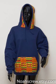 Your place to buy and sell all things handmade African Print Fashion, Africa Fashion, Fashion Prints, African Attire, African Dress, African Shirts For Men, African Print Shirt, Afro Men, Ankara Jackets