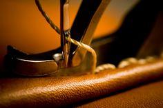 Schönes aus Leder selbermachen. DIY Ideen, Leder einfärben und Material.