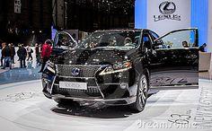 Geneva Motorshow 2012 - Lexus RX 450h