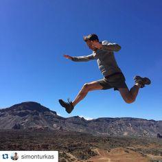 Trekking Teide excursion/leap of faith #gosharetenerife