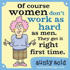 Loving Aunty Acid! hahahaha!!! #women #goodmorning