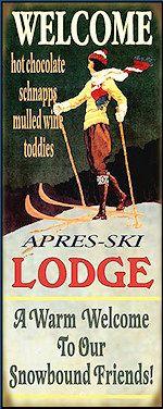 Lodge Sign 14 x 36 Ski Lodge Sign 14 x 36 - Now this is my kind of Winter Wonderland!Ski Lodge Sign 14 x 36 - Now this is my kind of Winter Wonderland! Chalet Style, Lodge Style, Ski Lodge Decor, Winter Lodge, Mountain Decor, Mountain Homes, Arte Pop, Vintage Travel, Vintage Ski Decor