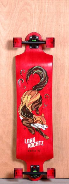 The Landyachtz Switch Longboard Deck is designed for Downhill, Sliding, Freeride…