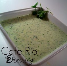 The Farm Girl Recipes: Cafe Rio Dressing