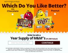M&M GET YOURS NOW