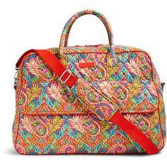 f19089c34e4a Vera Bradley NWT GRAND Traveler Bag Luggage Paisley In Paradise Big Bag! in  Clothing