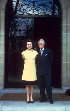 Still fashionable at the age of 70! Wallis Simpson