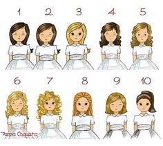 CATÁLOGO modelos personalizados pelo niña Pepa Coqueta #comunion First Holy Communion, Paper Dolls, Disney Characters, Fictional Characters, Family Guy, Silhouette, Disney Princess, Portrait, Celebrities
