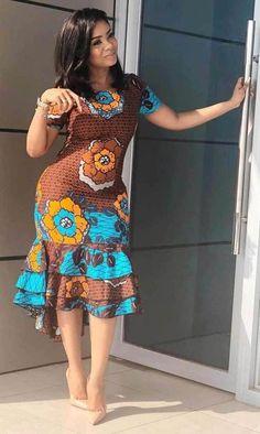 Beautiful floral print African Dress fashion Most beautiful African Print Ankara Gown Styles And Designs. Beautiful floral print African Dress fashion Most beautiful African Print Ankara Gown Styles And Designs. African Fashion Ankara, Latest African Fashion Dresses, African Print Fashion, Dress Fashion, Africa Fashion, African Style, Curvy Fashion, Latest Fashion, Fashion Outfits