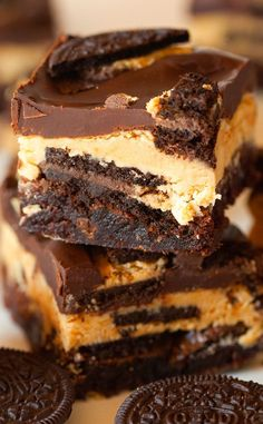 Ultimate Chocolate and Peanut Butter Brownies