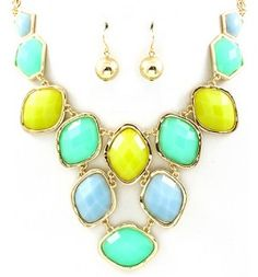 Necklace and earrings set $18