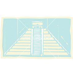 Mayan pyramid codex vector by xochicalco on VectorStock® References Page, Vector Free, Mexico, Book, Image, Travel, Design, Viajes