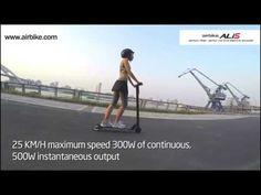Video de un producto similar a nuestro nuevo scooter eléctrico u-move. Ligero y…