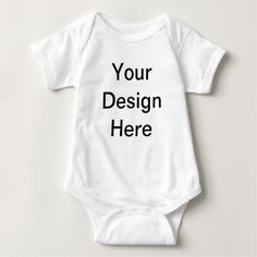 Create Your Own Customize Photo Template Design Baby Bodysuit - create your own gifts personalize cyo custom