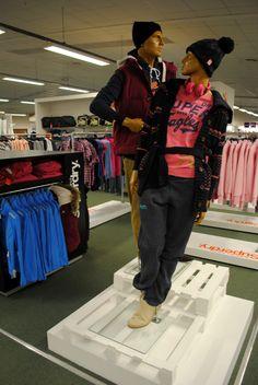 // visual merchandising // display // concept shop // superdry // fashion