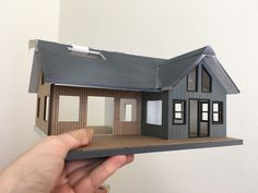 Pardon the band aid thumb! The JManLaserCrafts Beach House kit really came to life this weekend and it is finally starting to look ...