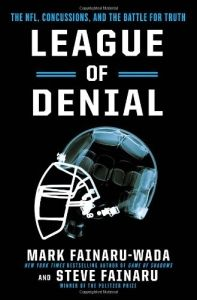 "Read of the Week: ""League of Denial"" - If you love the game of football, you'll find this book absolutely fascinating. Unfortunately, you'll probably never be able to watch the game in the same way again."