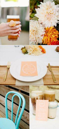 Biergarten Inspired Photo Shoot from Gladys Jem + Buzzworthy Events SF | The Wedding Story