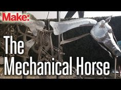 Watch the Mechanical Gallop of a Beautiful Kinetic Horse Sculpture | Make: