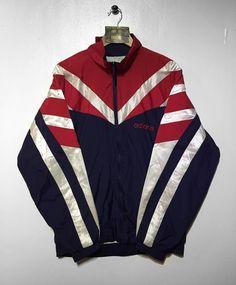 Adidas track jacket Size Medium(but fits oversized) £32 Website➡️ www.retroreflex.uk #adidas #trefoil #vintage