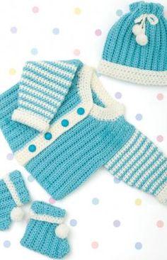 Newborn Layette Crochet Pattern