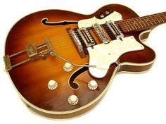 Hofner / 4570 Hot-Rod / 1965 / Brownburst /Vintage Guitar  - Shared by The Lewis Hamilton Band - https://www.facebook.com/lewishamiltonband/app_2405167945  -  www.lewishamiltonmusic.com