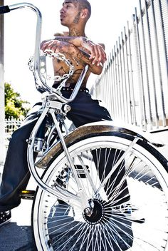 Lowrider bicycle