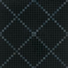 #Bisazza #Decori 2x2 cm Nera   #Porcelain stoneware   on #bathroom39.com at 449 Euro/box   #mosaic #bathroom #kitchen