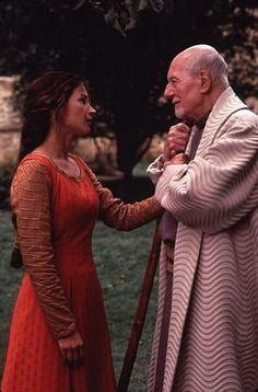 """First Knight"" Julia Ormond, Sir John Gielgud"