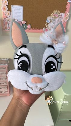 Diy Crafts Hacks, Crafts To Make, Doll Crafts, Paper Crafts, Polymer Clay Disney, Animal Sewing Patterns, Easy Easter Crafts, Diy Ostern, Felt Decorations