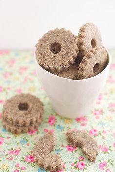 Q.C.ne: Biscotti saraceni di Montersino Buckwheat cookies