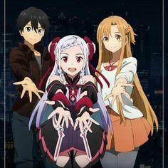 Kazuto, Sayaka Kanda & Yuuki Asuna (Ordinal Scale) - By Sword Art Online ღ