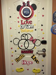 Disney Cruise Door Decoration