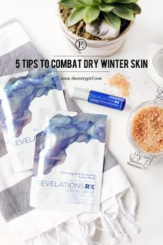 5 Tips to Combat Dry Winter Skin #theeverygirl