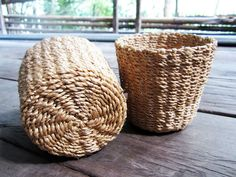 Woven Baskets Natural Color