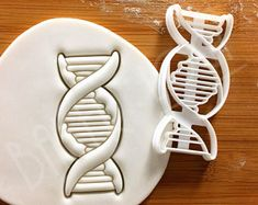 DNA cookie cutter | biscuit cutters cell cycle Deoxyribonucleic acid molecule genetics genetic Microbiology laboratory science chromosome