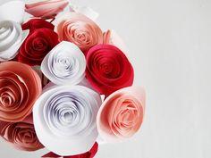 DIY : Fleurs en papier
