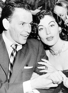 Ava Gardner and Frank Sinatra 1950s
