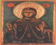 Saint Anastasia the Roman Resource Page St Anastasia, Religious Icons, Roman, Mona Lisa, Saints, Culture, Statue, Artwork, Blog