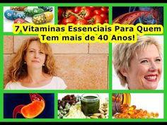 7 Vitaminas Essenciais Para Quem Tem mais de 40 Anos!