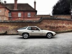 1986 Porsche 924S.  Photo taken with iPhone 5 and Snapseed filters applied