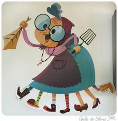 Jaia Corema en el Aula de Elena Baba Yaga, Winter Kids, Preschool Activities, Paper Dolls, Fathers Day, Art For Kids, Character Design, Arts And Crafts, Easter